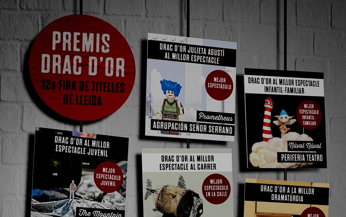 PREMIOS DRAC D'OR 2021- 32a Fira de Teatre de Titelles de Lleida
