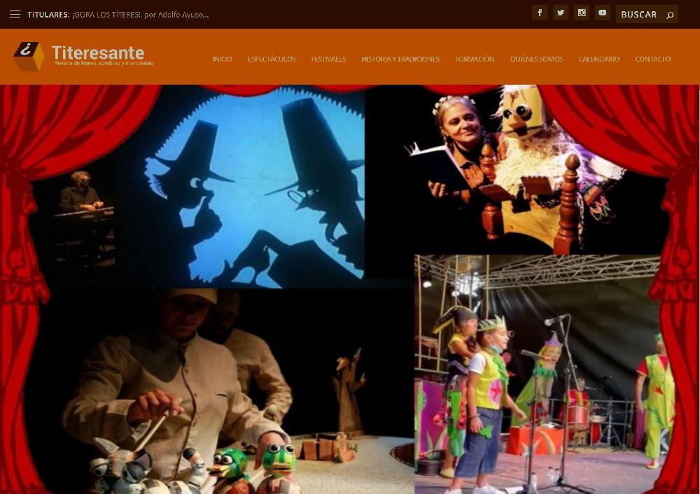 """CRÓNICA DEL FESTIVAL """"PARQUE DE LAS MARIONETAS"""" EN 5 ARTÍCULOS DE TONI RUMBO EN LA REVISTA TITERESANTE"""
